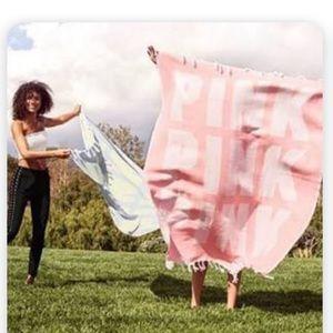 Victoria's Secret Pink festival beach blanket NWT